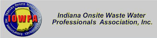 Indiana Onsite Waste Water Professionals Association, Inc.